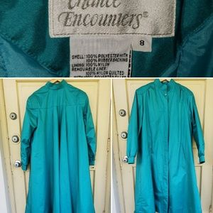 Vintage Chance Encounters Trench Coat